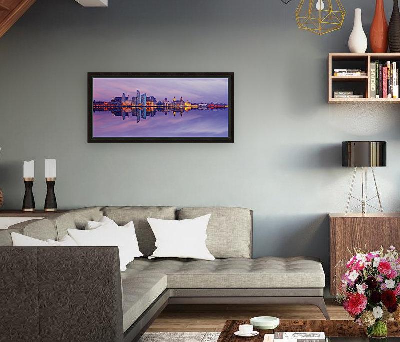 LIV 007 Liverpool Skyline   PANORAMIC  Art