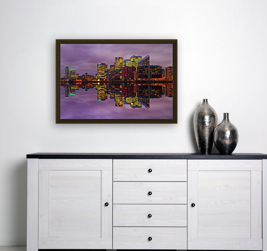 LON 008 Canary Wharf Reflection   Art