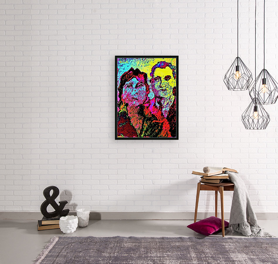 The Happily Married Couple  - by Neil Gairn Adams   Art