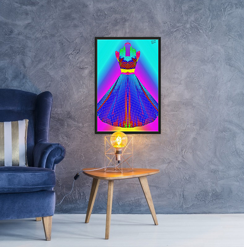 The Dress  -  by Neil Gairn Adams  Art