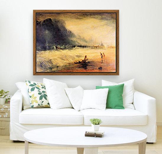 Stranded ship by Joseph Mallord Turner  Art