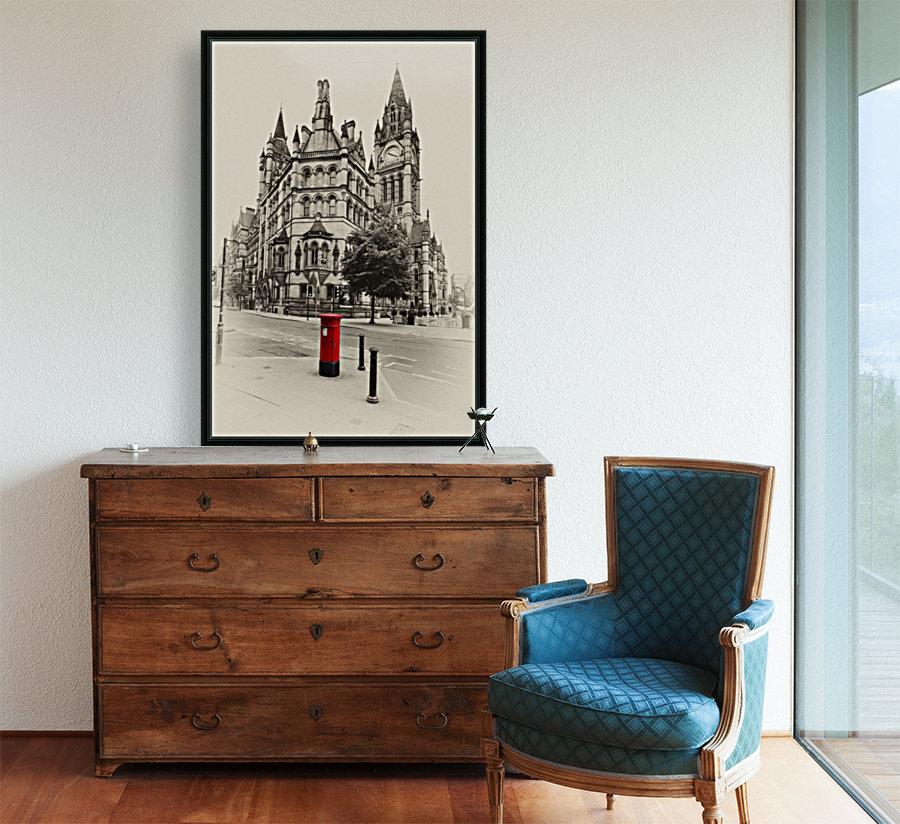 MAN 023 Manchester Town Hall  Art