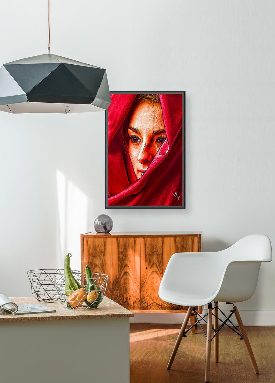 Bianca in red  Art