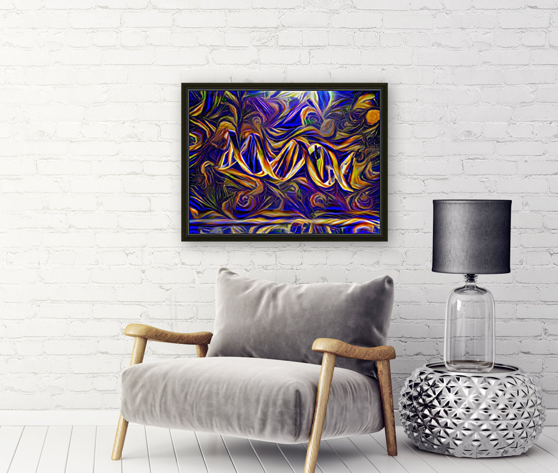 Abstract DNA  Art