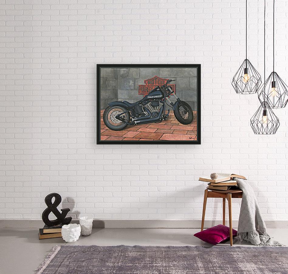 Harley Davidson Motorcycle  Art