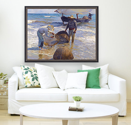 Los Pescadores Valencianos with Floating Frame