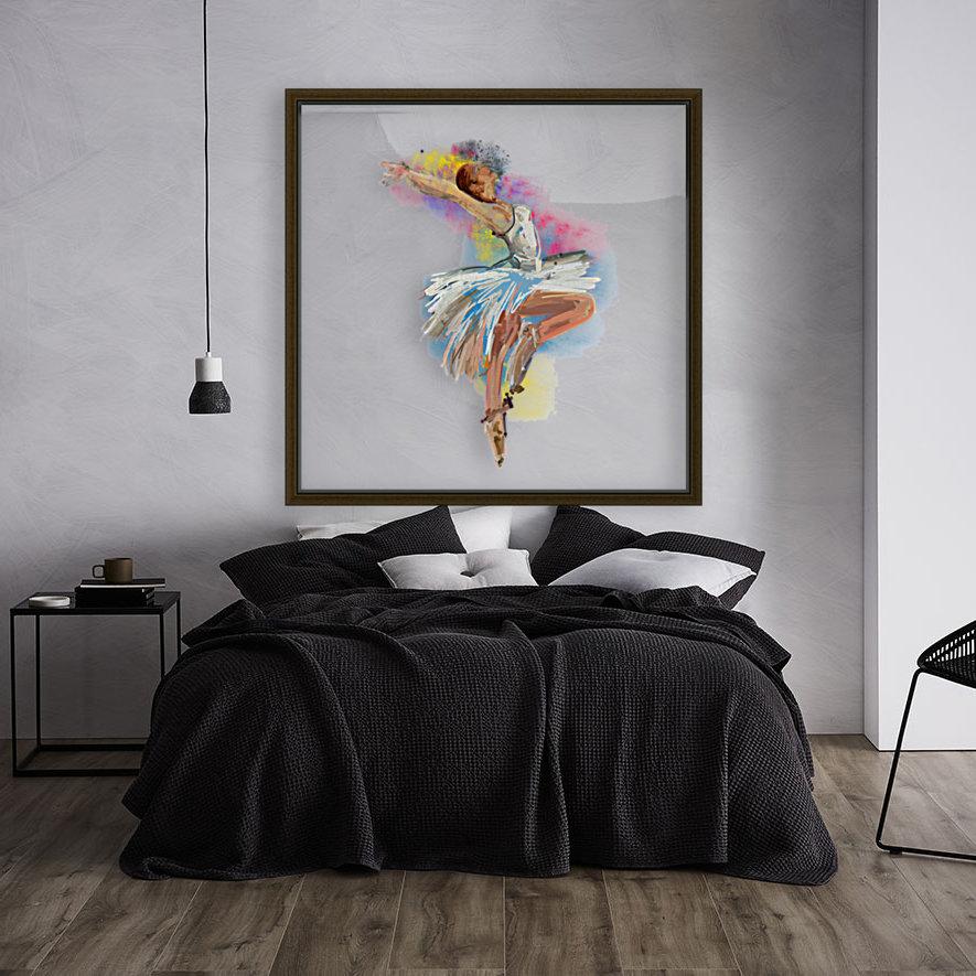 Ballet dancer painting art   Art