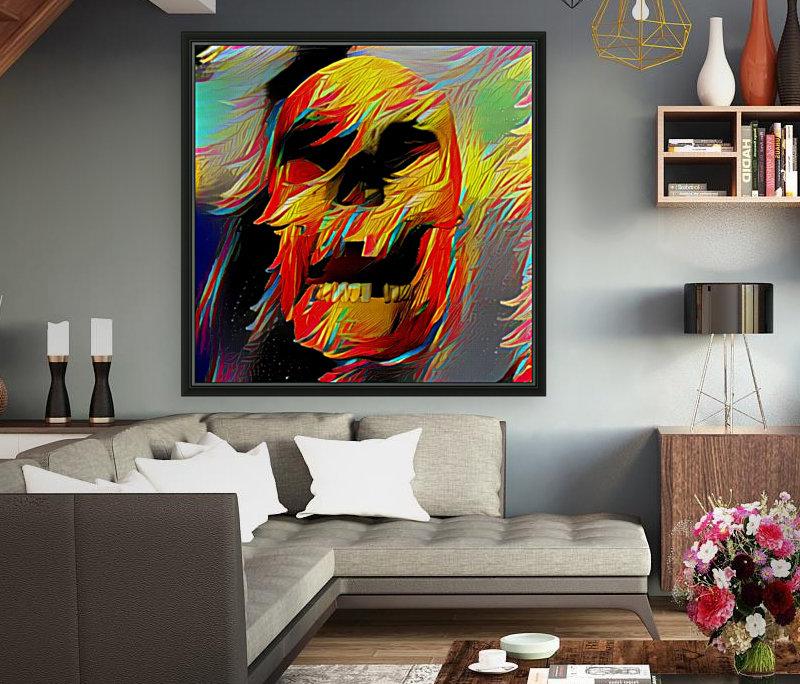 Colorful Skull  Art