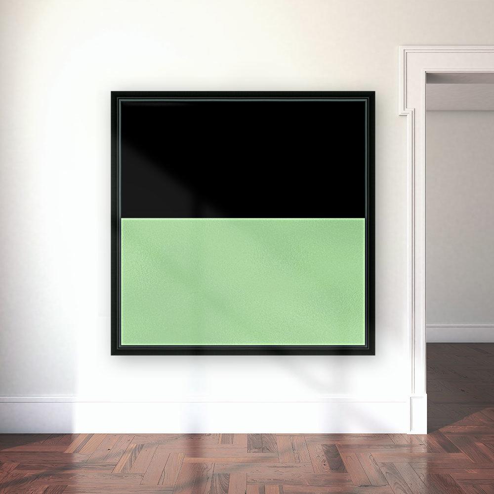 ABSTRACT GREEN GLITTER  Art