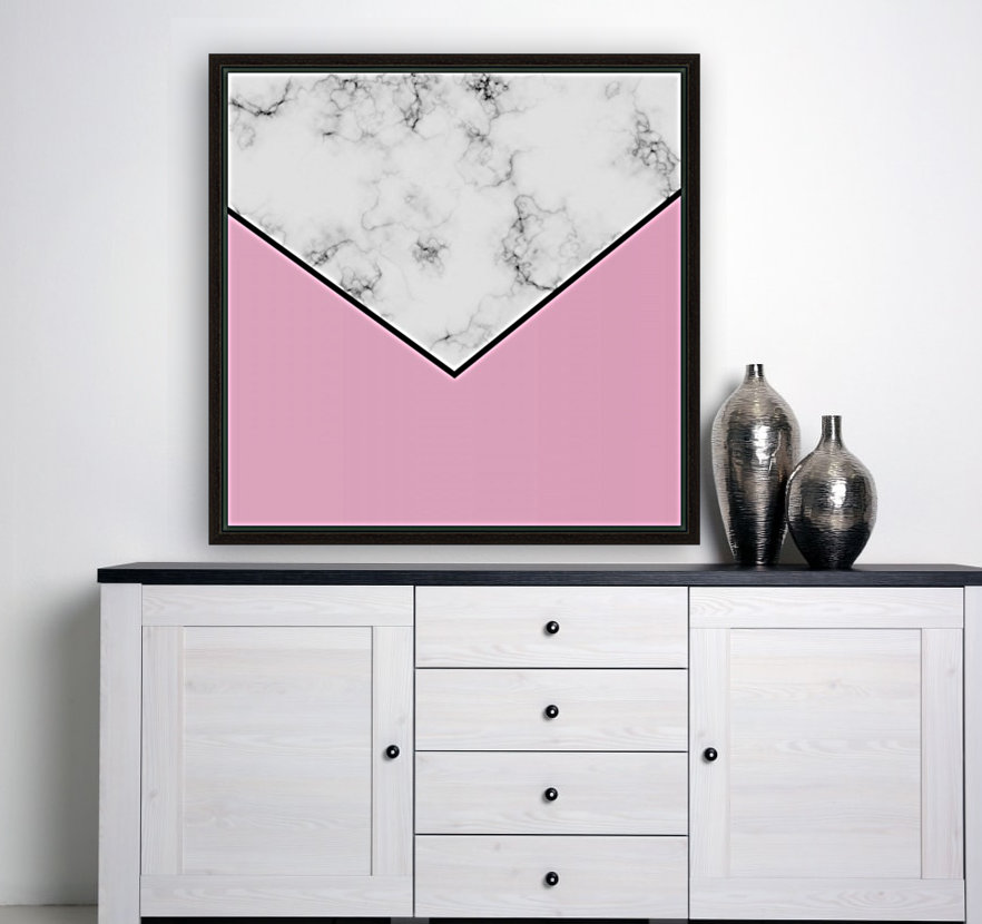 ABSTRACT PINKY MODERN MARBLE  Art