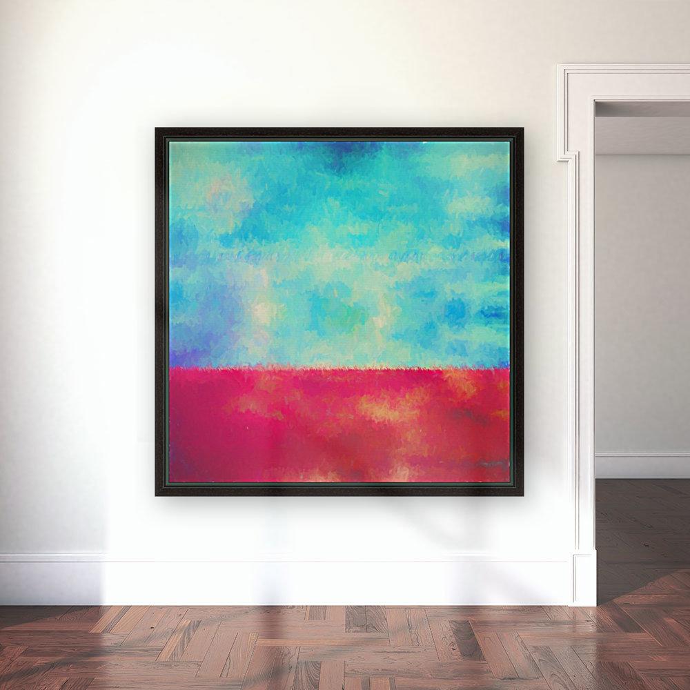 Red Horizon  Art