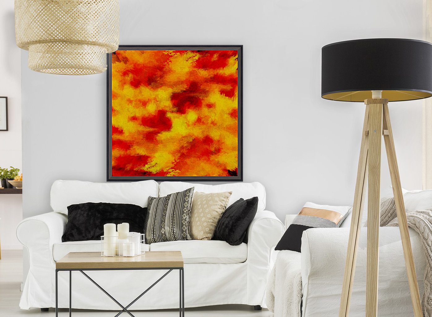 Inferno with Floating Frame