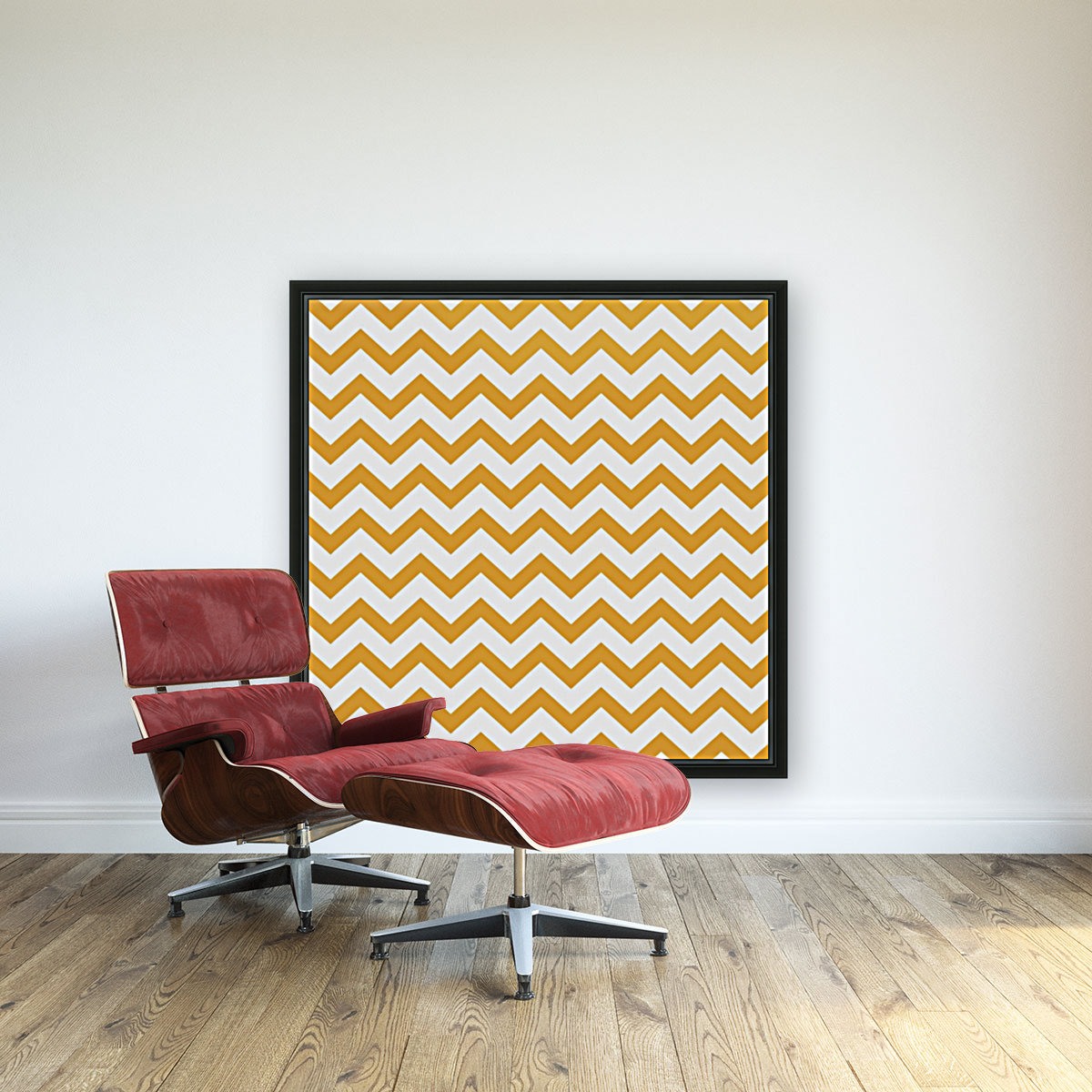 MARIGOLD CHEVRON  Art