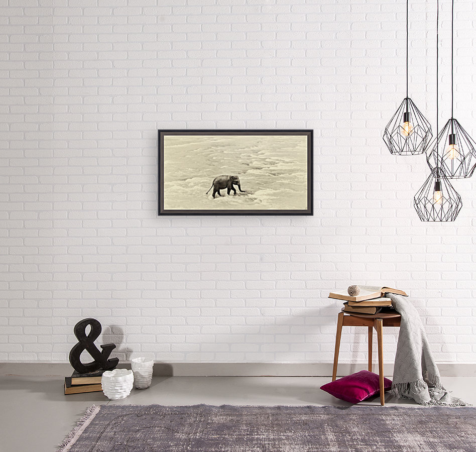 RIVER ELEPHANTS 5.  Art