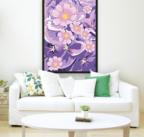 Abstract Flowers   Art