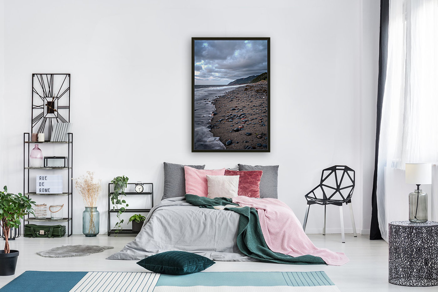 Cape Breton Shore with Floating Frame