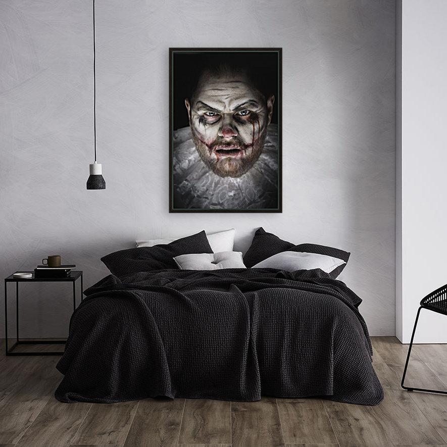 Scary Evil Clown  Art