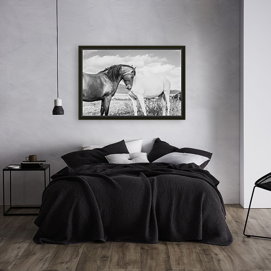 BLACK AND WHITE with Floating Frame