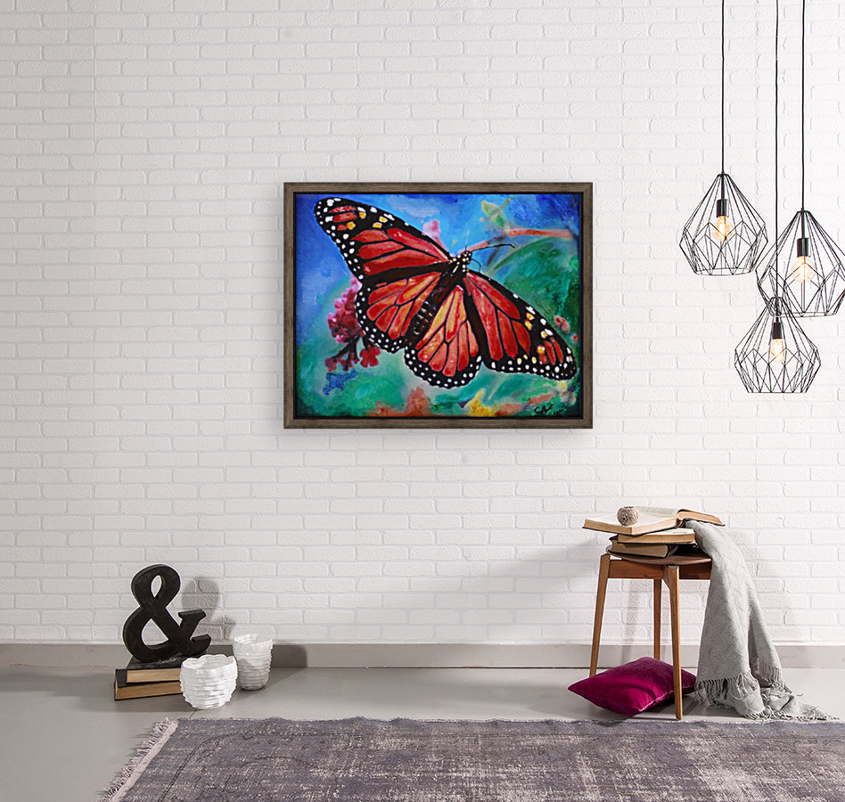 Colorado Butterfly with Floating Frame