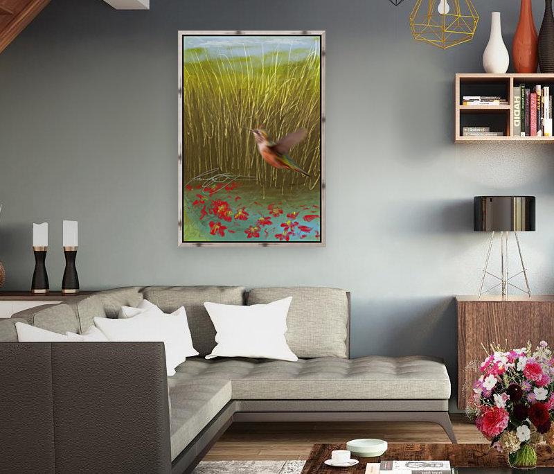 Hummingbird  Art