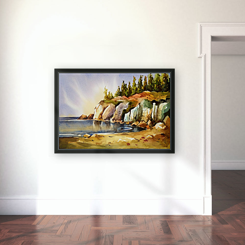 Cliff 1 with Floating Frame