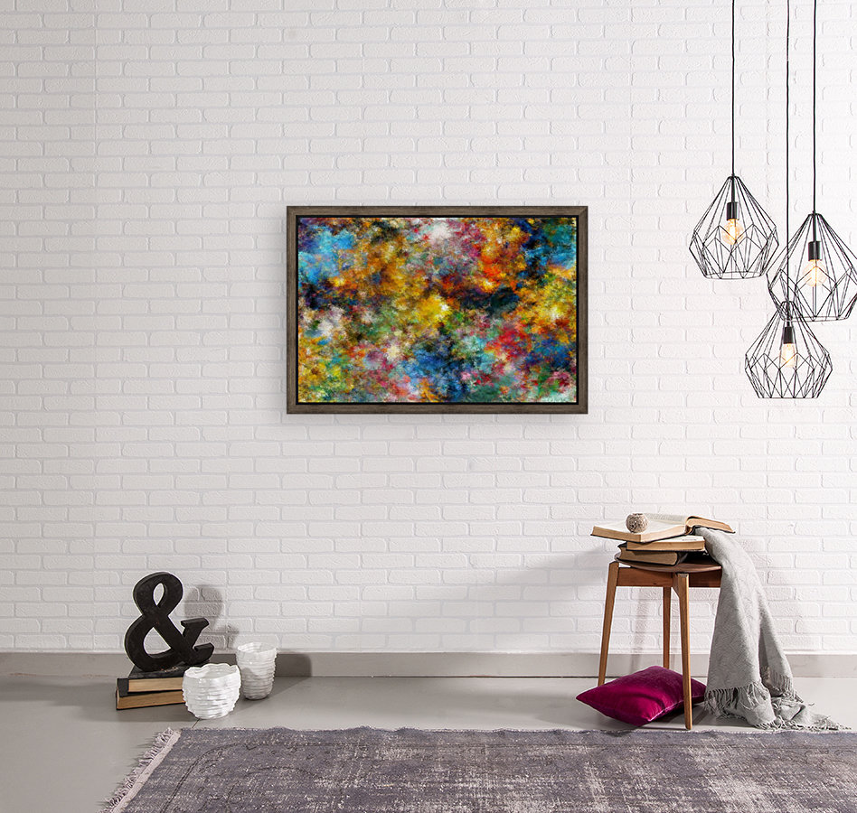 Clouds and Lights  Art