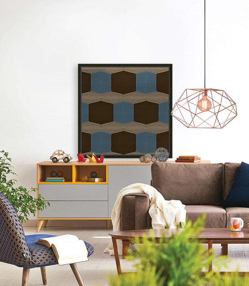 Cubes with Floating Frame
