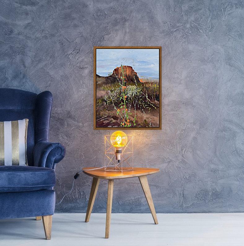 Arizona Desert Flowers  Art