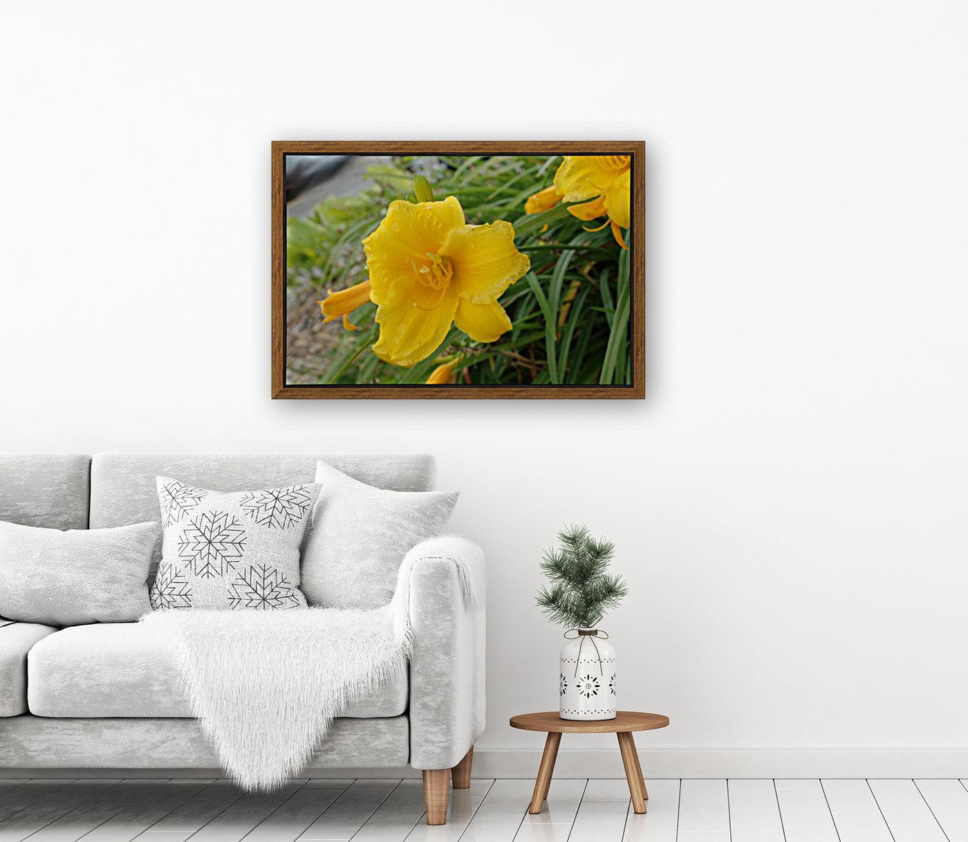 Yellow Lilly  Art