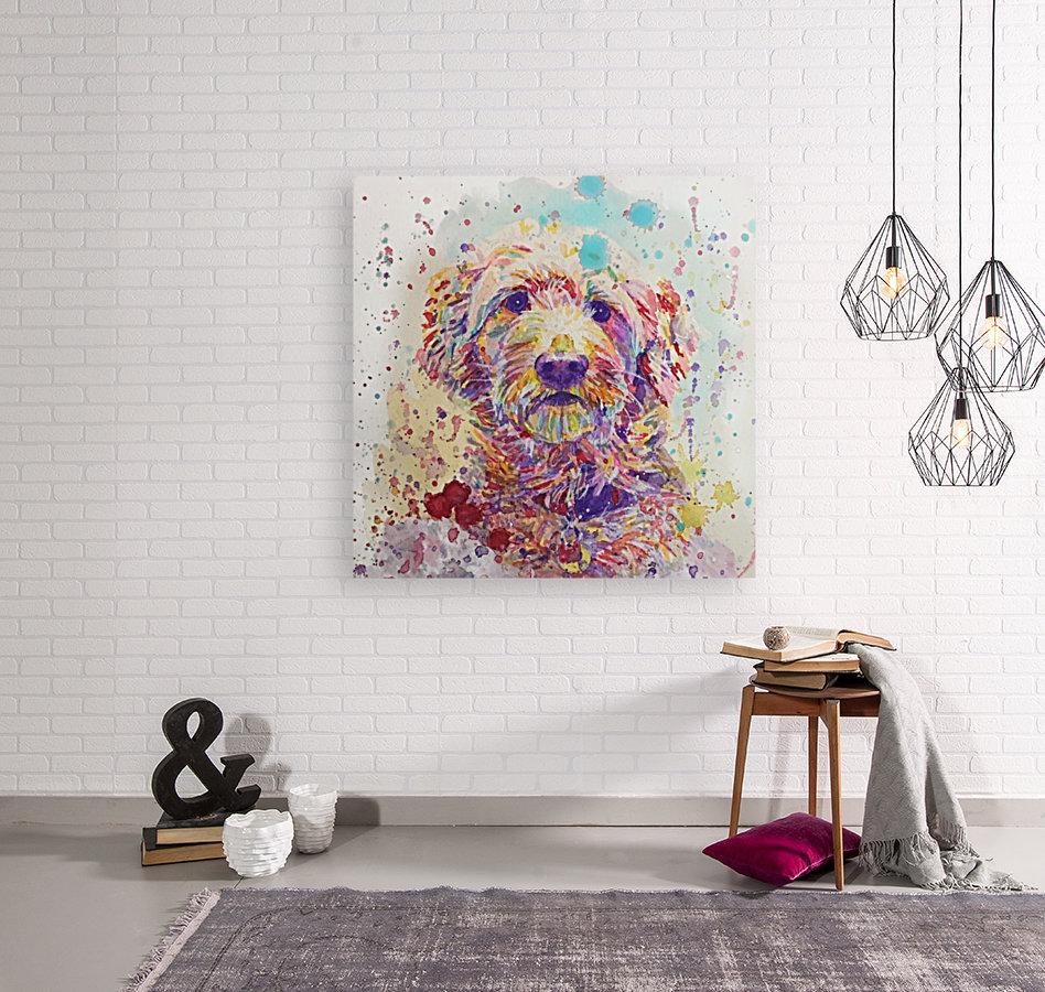 Goldendoodle - Portrait of Link  Art