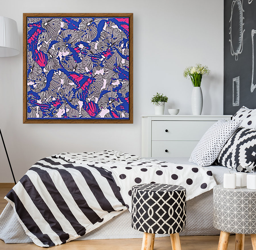 butterfly collage med  Art