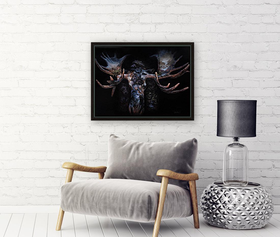 Moose Apparition   Art