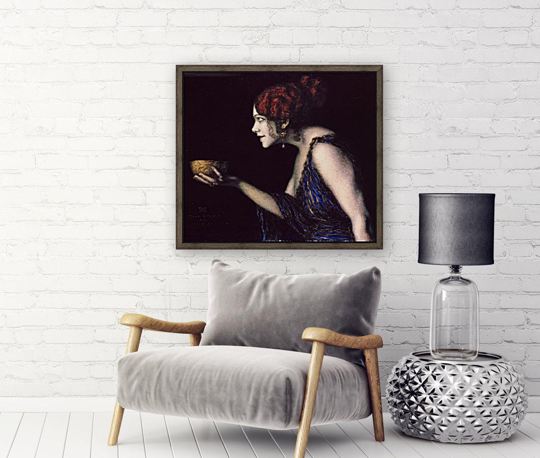Tilla Durieux as Circe by Franz von Stuck  Art