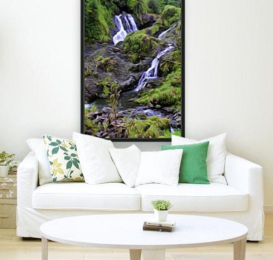 Upper Hanawi Falls  Art