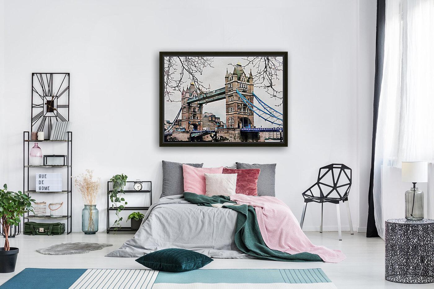 Tower Bridge London  Art