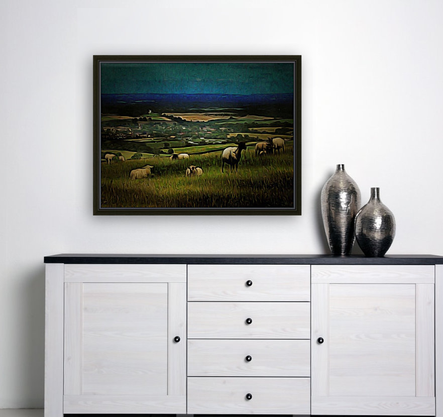 South Downs View  Art