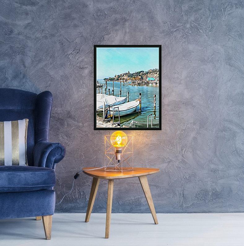 Moored Boats at Passignano  Art