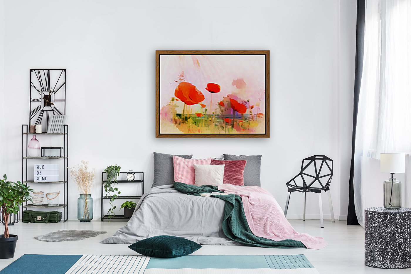Poppies In Impression  Art