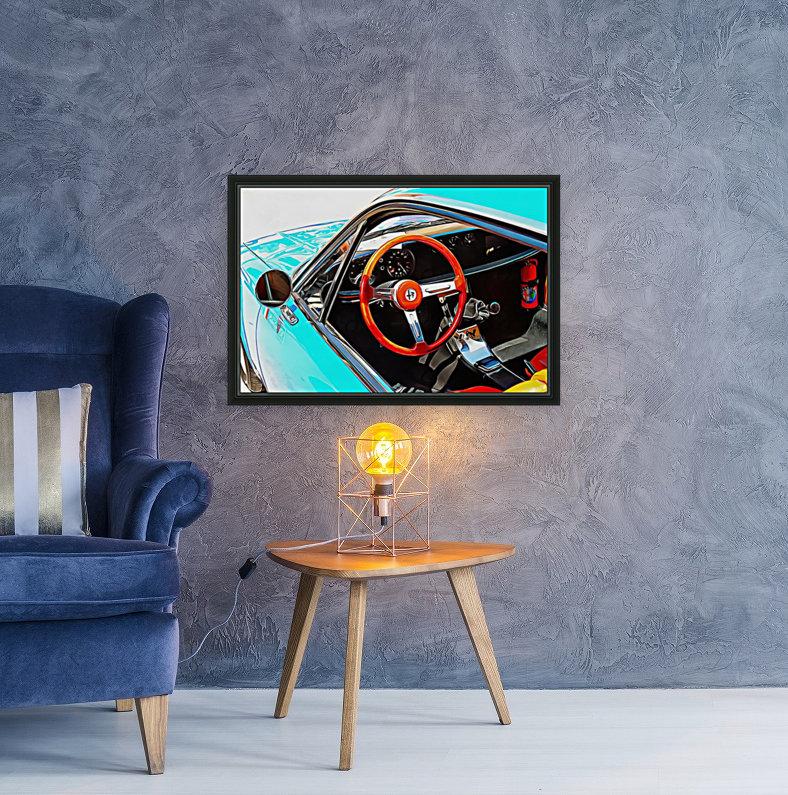 Alfa Romeo 1600Z Through The Window  Art