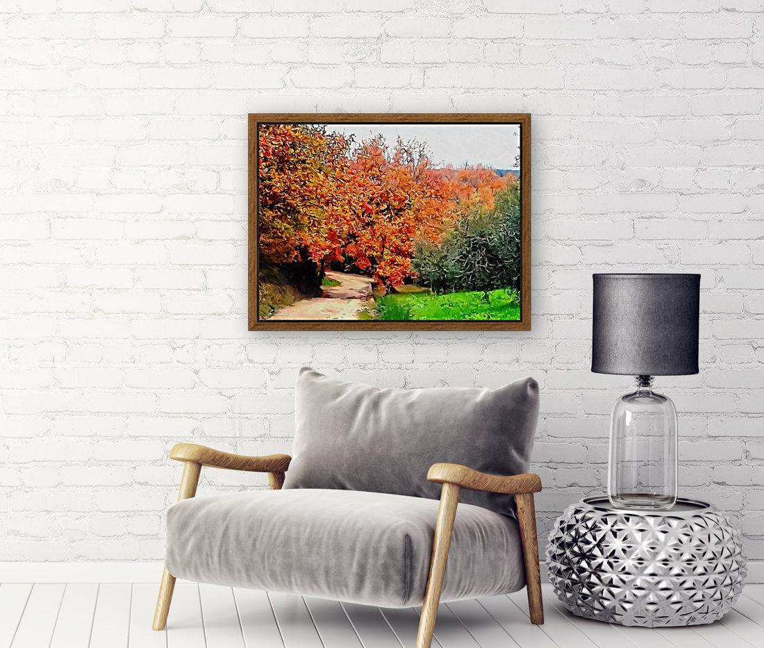 Autumn Golden Colours Umbria  Art