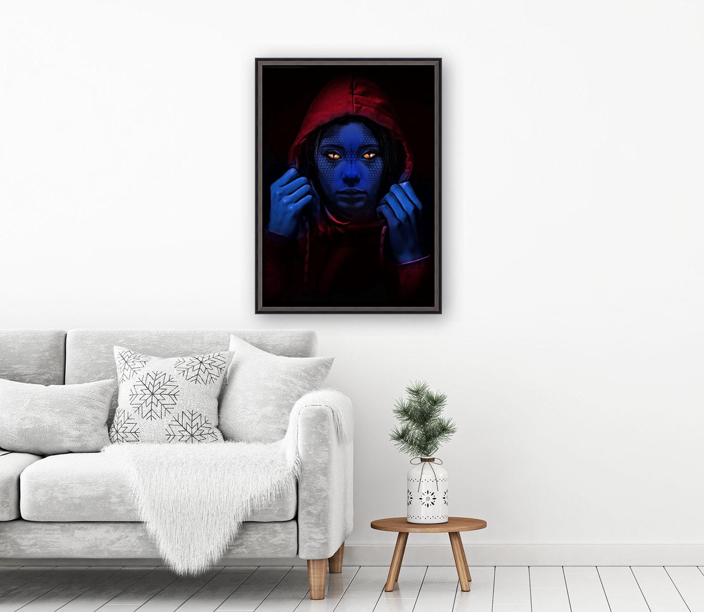 Blue Indigo  Art