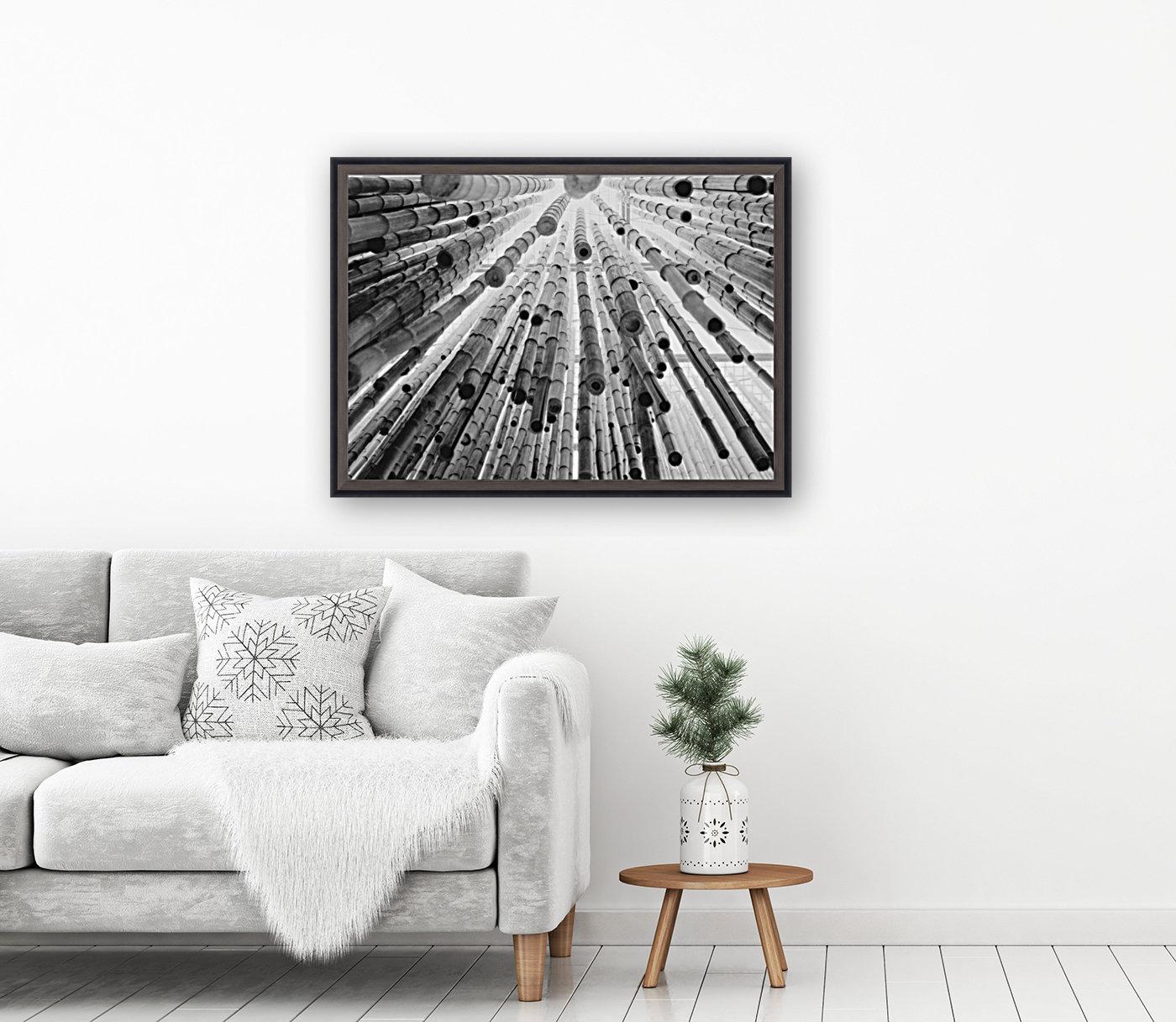 bamboo falling  Art