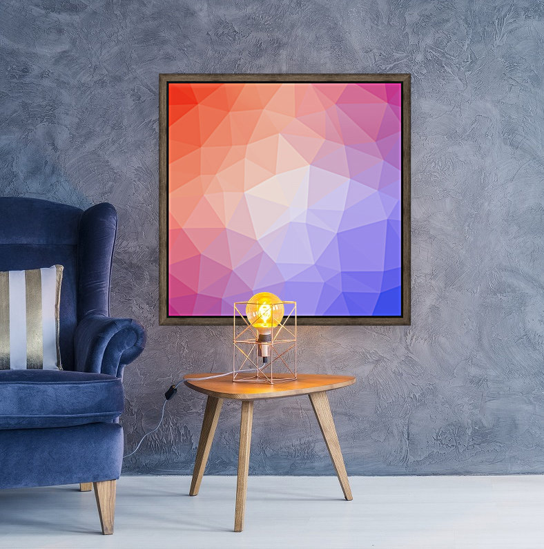 Abstract art patterns low poly polygon 3D backgrounds, textures, and vectors (8)  Art