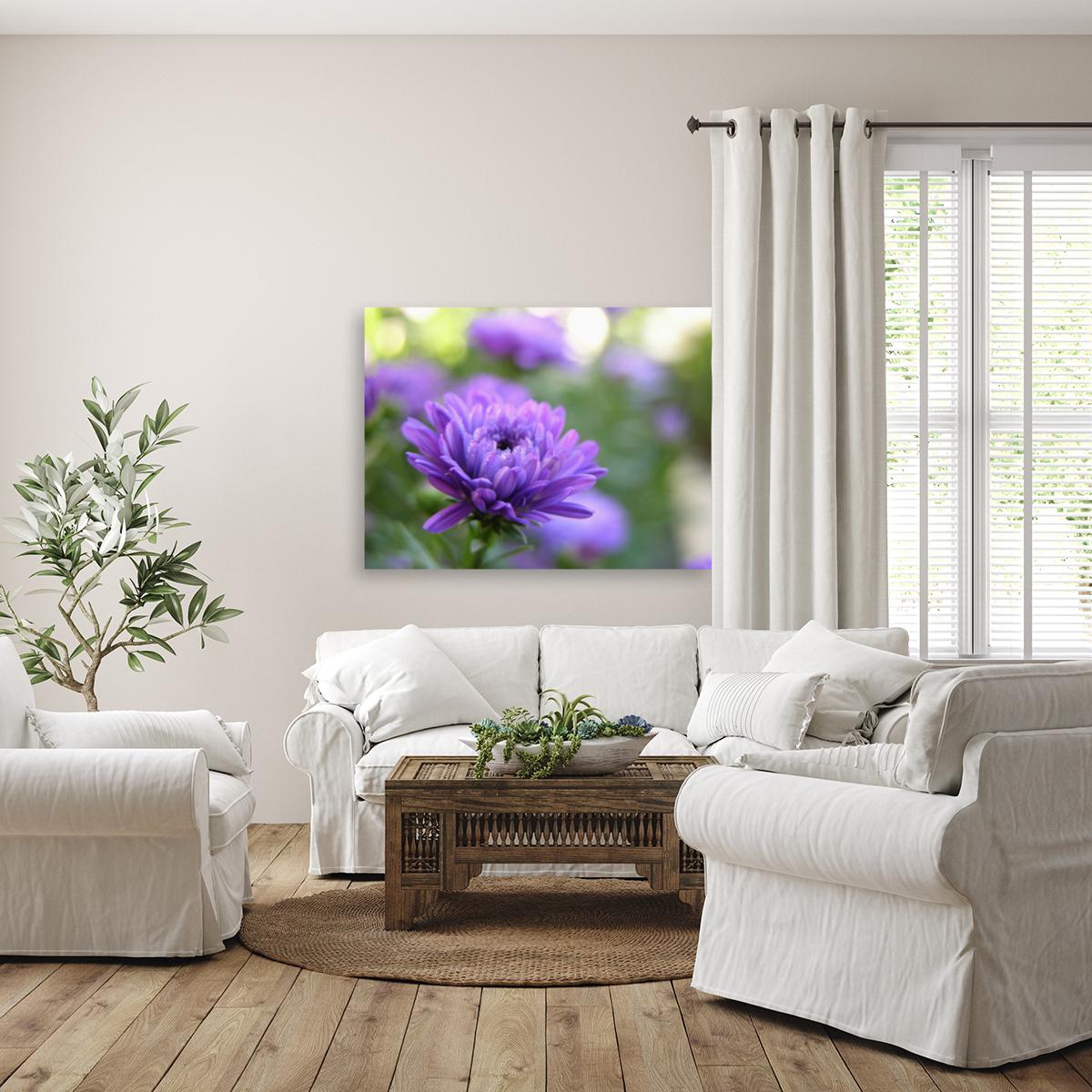 Blue Flower Photograph  Art
