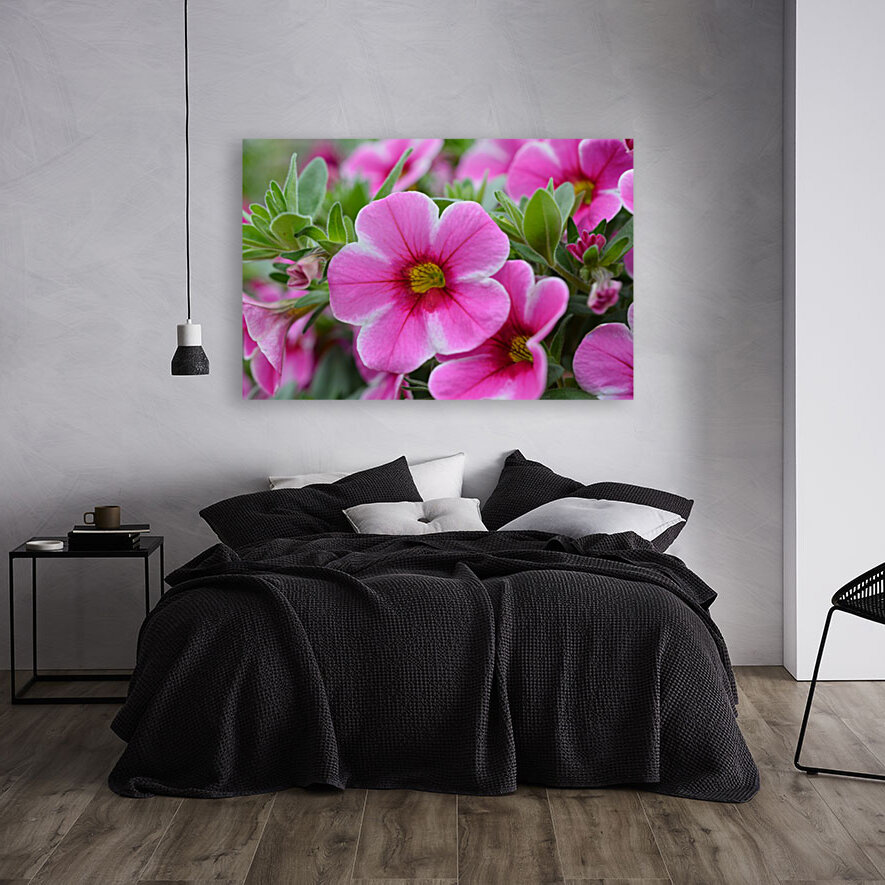 Pink Flowers Photograph  Art