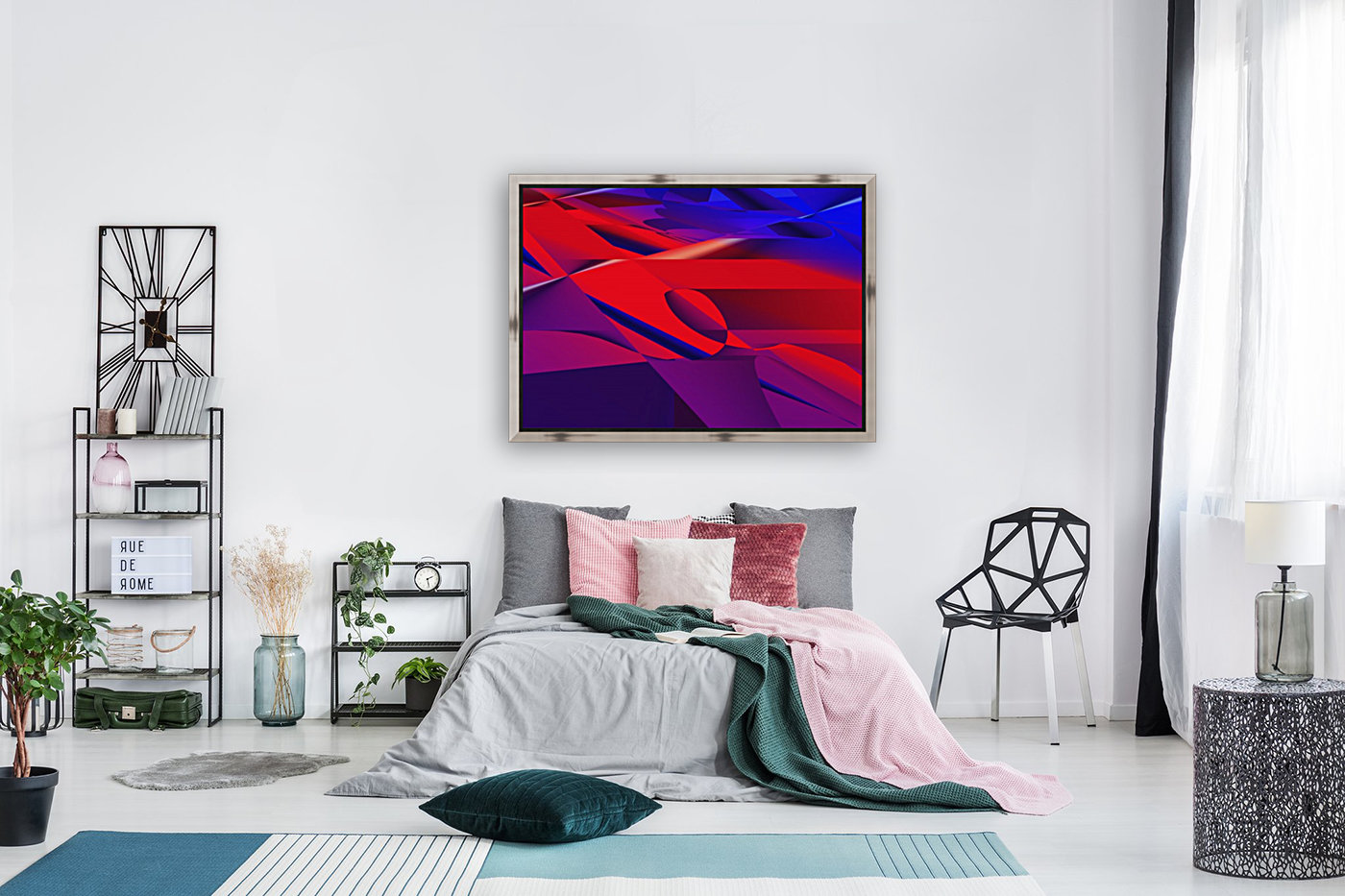 red and blue 0513a219  Art