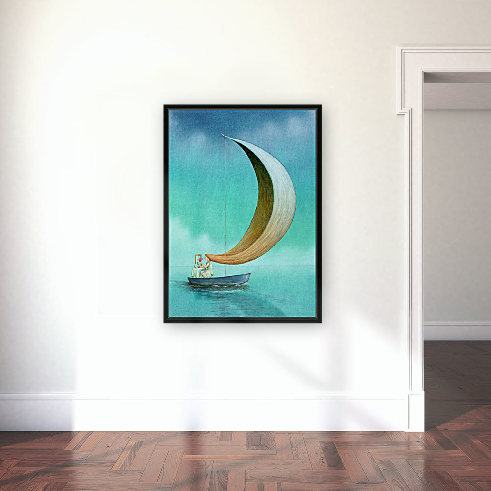 wind with Floating Frame