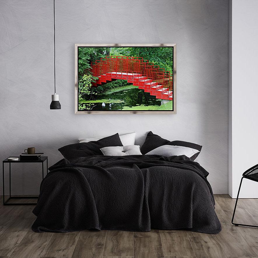 Dow Gardens Red Footbridge 062618  Art