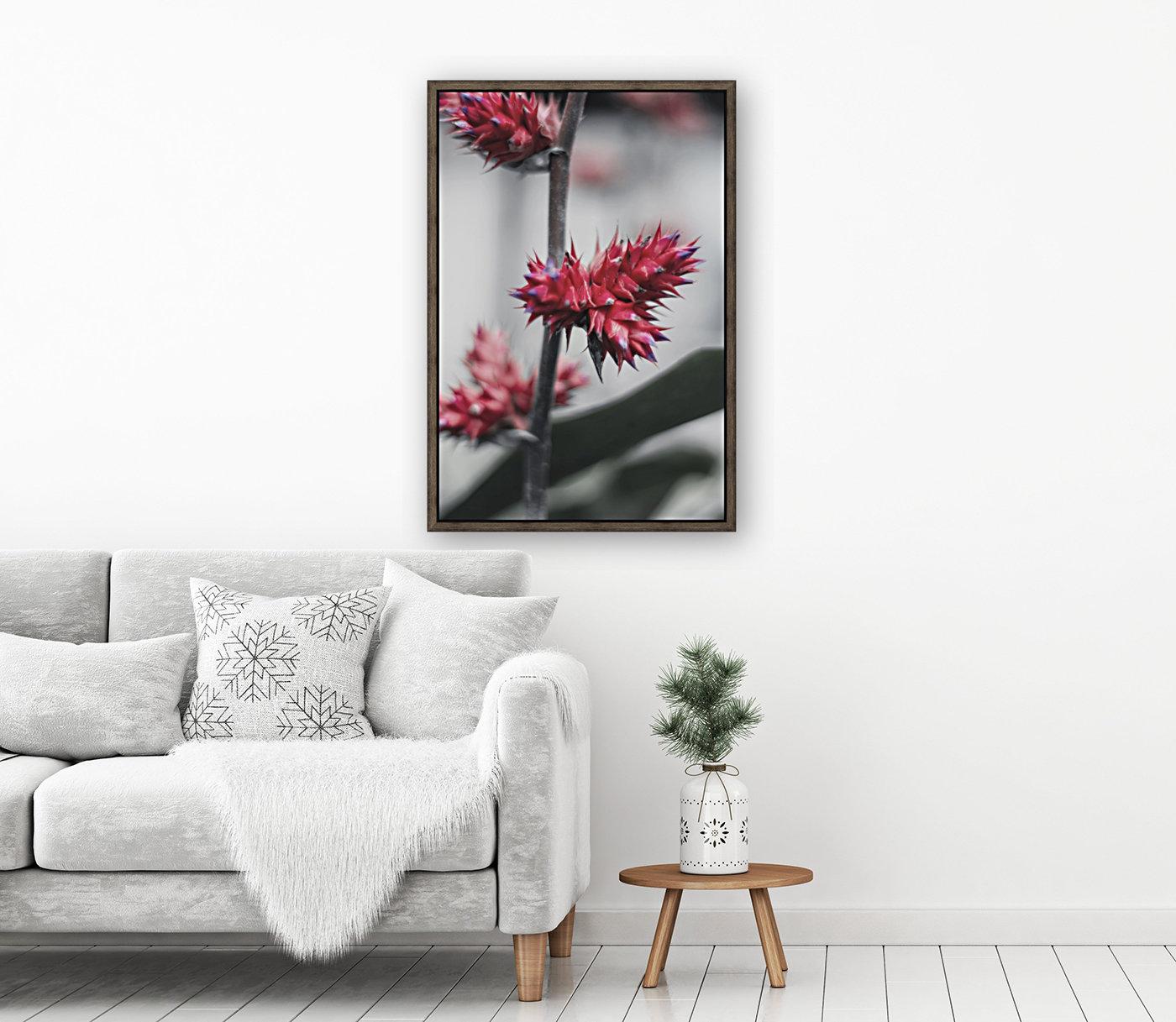 spiked flower  Art