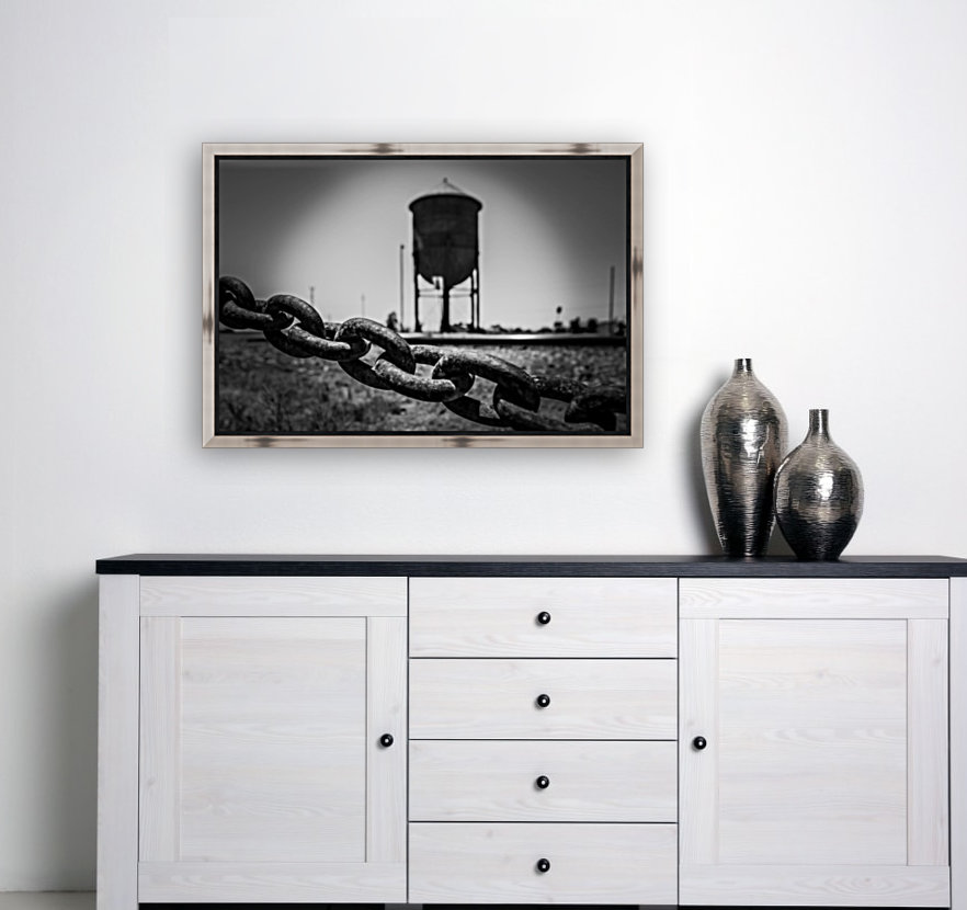 Pinhole Water Tower with Floating Frame